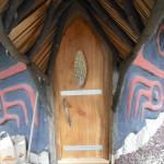 Raven Sauna door