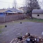 Human Habitat Restoration- before little house construction